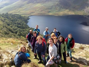 2014 group visiting Lough Tay